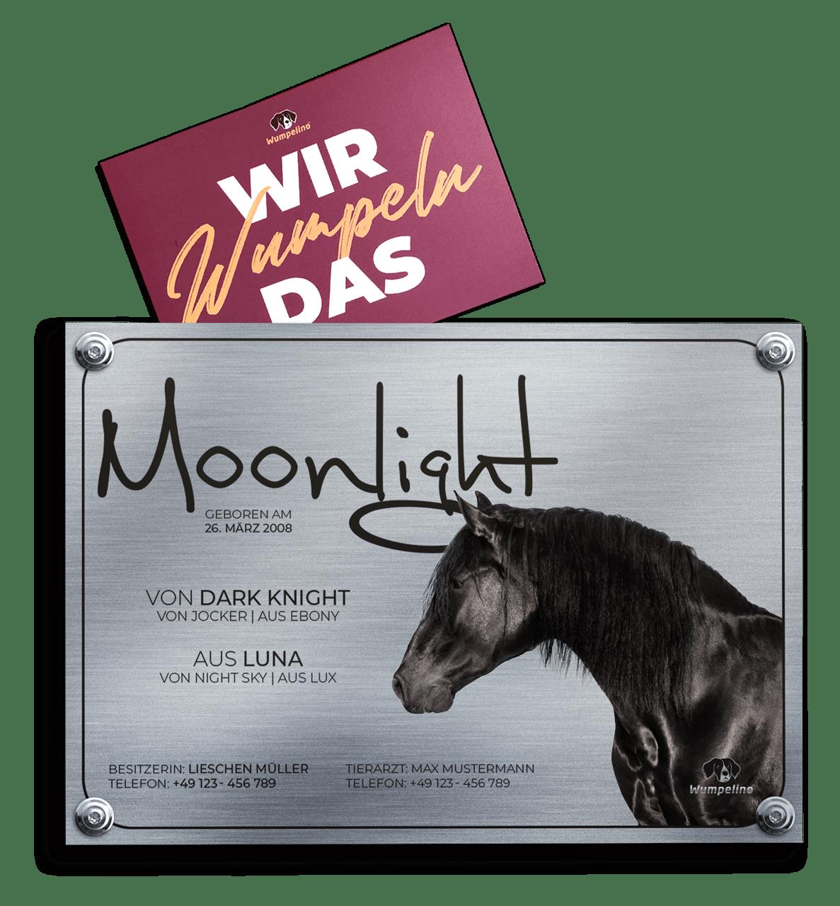Wumpelino.de - Schild Mock-Up